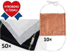 blago za izdelavo maske, 10 kosov + filtri, 50 kosov
