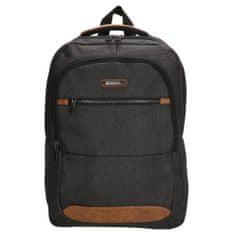 Enrico Benetti muški ruksak 62083, tamno sivi