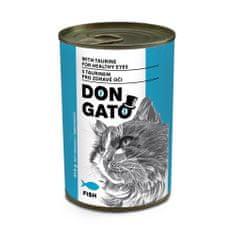 Dibaq DON GATO konzerv macskáknak hal 10x415 g