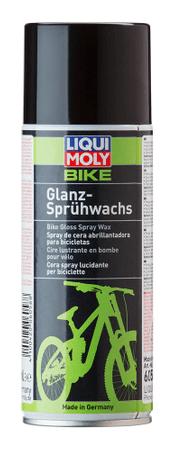 Liqui Moly čistilo z voskom Bike Gloss Spray Wax, 400 ml