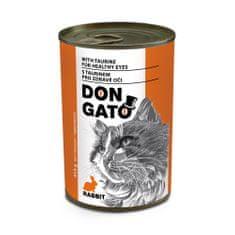 Dibaq DON GATO konzerv macskáknak nyúlhús 10x415 g