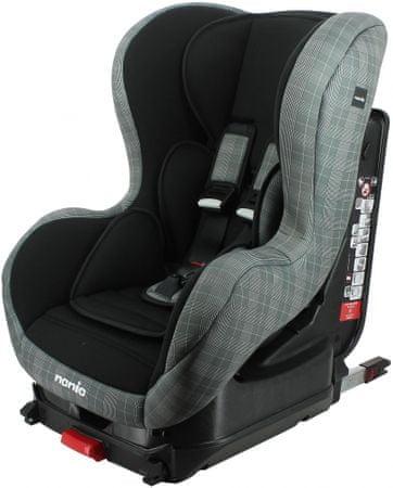 Nania dječja auto sjedalica Cosmo Isofix Grey 2020, siva