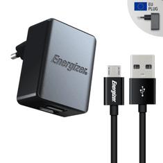 Energizer Nabíječka do sítě 2x USB 3,4A s Micro-USB kabelem černý (ACA2CEUUMC3)