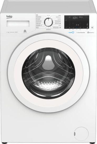 Beko EWUE7636CSWX0W + 10 let záruka na motor + dárek set 2x ručník a 1x osuška B.E.S. Petrovice ZDARMA