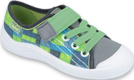 Befado tenisówki chłopięce Tim 251X148 27 zielony