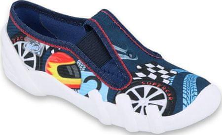 Befado fantovski copati Skate 290X193, 25, modri