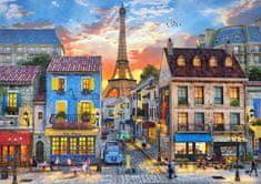 Castorland Puzzle Pařížské ulice 500 dílků