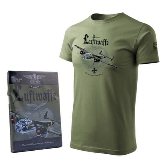 ANTONIO Tričko s německým bombardérem z druhé světové války DORNIER DO 17 - M