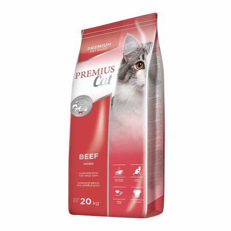 Dibaq hrana za mačke Premius cat Beef, 20 kg