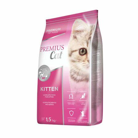 Dibaq hrana za mačke Premius cat Kitten 1,5 kg