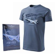 ANTONIO Tričko s vojenským letadlem F-15C EAGLE