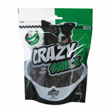 Dibaq pasji prigrizki Crazy Snack DENTAL cross, 100 g