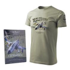 ANTONIO Tričko se stíhacím letadlem USAF F-4E PHANTOM II