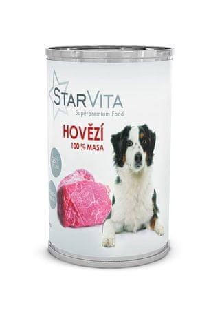 Starvita konzervirana hrana za pse, mleta govedina, 800 g