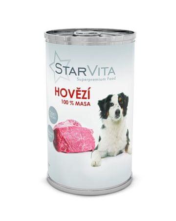 Starvita konzervirana hrana za pse, mleta govedina, 1200 g