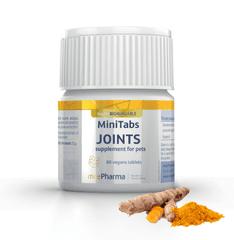 mcePharma MiniTabs JOINTS na klouby pro psy, 60 minitablet