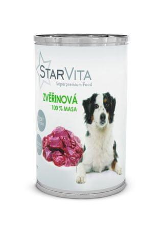 Starvita konzervirana hrana za pse, mleta divjačina, 800 g