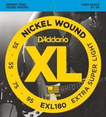 Daddario EXL180 Struny pro baskytaru