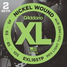 Daddario EXL165TP Struny pro baskytaru (2 sady)