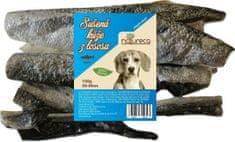 NATURECA Sušená koža z lososa 25 - 30 cm, 150 g