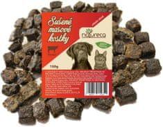 NATURECA Sušené mäsové kocky hovädzie 150 g