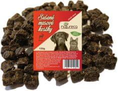 NATURECA Sušené mäsové kocky jeleň 150 g