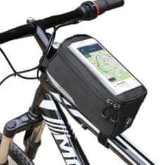 MG Bike Front Storage torbica za kolo 6.5'', črna