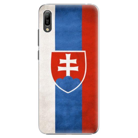 iSaprio Plastový kryt - Slovakia Flag pre Huawei Y6 2019