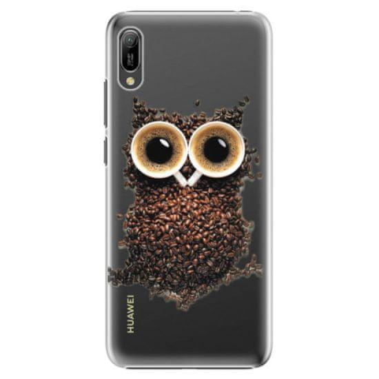 iSaprio Plastový kryt - Owl And Coffee pre Huawei Y6 2019