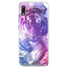 iSaprio Plastový kryt - Purple Tiger pre Huawei Y6 2019