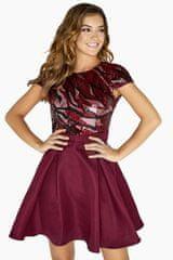 Little Mistress Plesové šaty, vel. 40