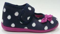 3F PANDA 1Bb3/8 platnene papuče za djevojčice