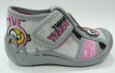 3F ZABKA 1F5/12 platnene papuče za djevojčice