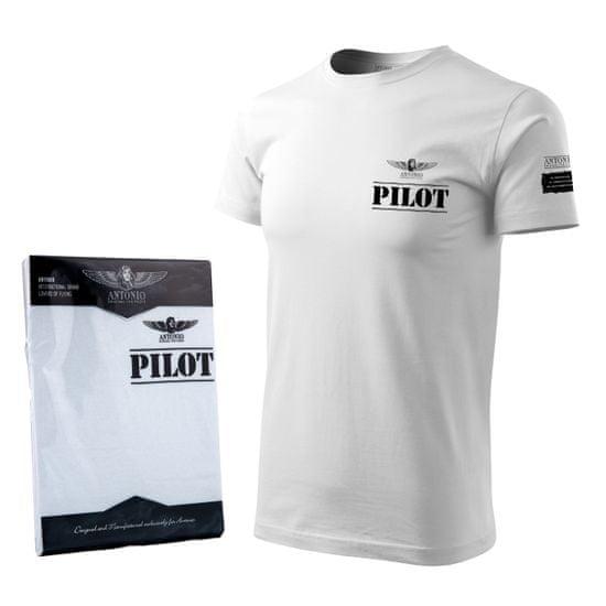 Tričko letecké se znamením PILOT - M