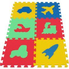 Toyformat Pěnový koberec MAXI Dopravní prostředky, silný