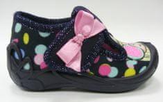 3F Tygrysek 1F8/12 platnene papuče za djevojčice
