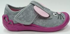 3F Tygrysek 1F8/18 platnene papuče za djevojčice