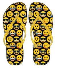 "Eplusm Fiú Flip-Flop papucs ""Smile"" - sárga"