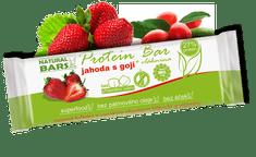 Natural Bars Proteinová tyčinka – jahody s goji