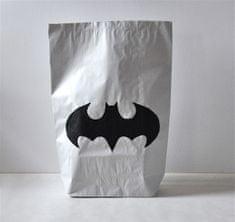 Designová papírová taška, střední, Batman