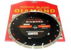 Ostatní Kotouč diamantový segmentový 230mm POWER BLADE M08530