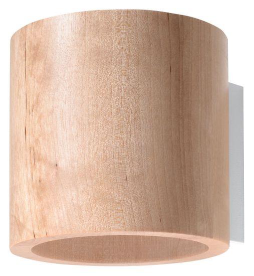 Sollux Nástěnné svítidlo ORBIS wood