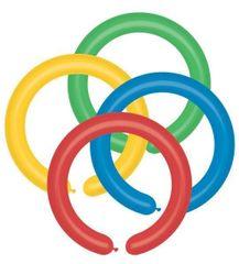 Gemar latexové modelovací balónky - mix barev - 100 ks