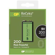 GP Batteries Nabíjecí baterie GP ReCyko+ 200 mAh (9V)