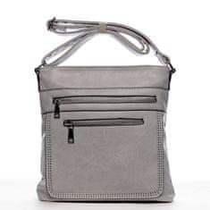 Romina & Co. Bags Moderní dámská crossbody kabelka La vida, šedá