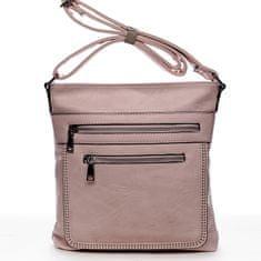 Romina & Co. Bags Moderní dámská crossbody kabelka La vida, růžová