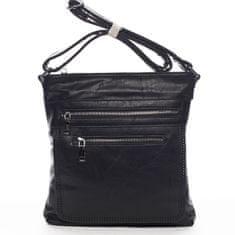 Romina & Co. Bags Moderná dámska crossbody kabelka La Vida, čierna