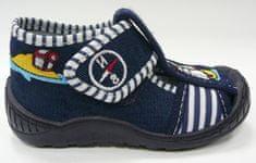 3F ZABKA 2K5/9 platnene papuče za dječake