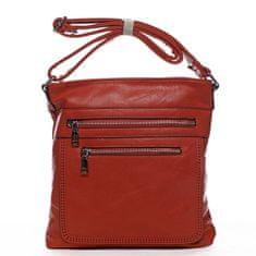 Romina & Co. Bags Moderní dámská crossbody kabelka La vida, červená