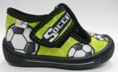 3F HEROS 2Sk3/7 platnene papuče za dječake